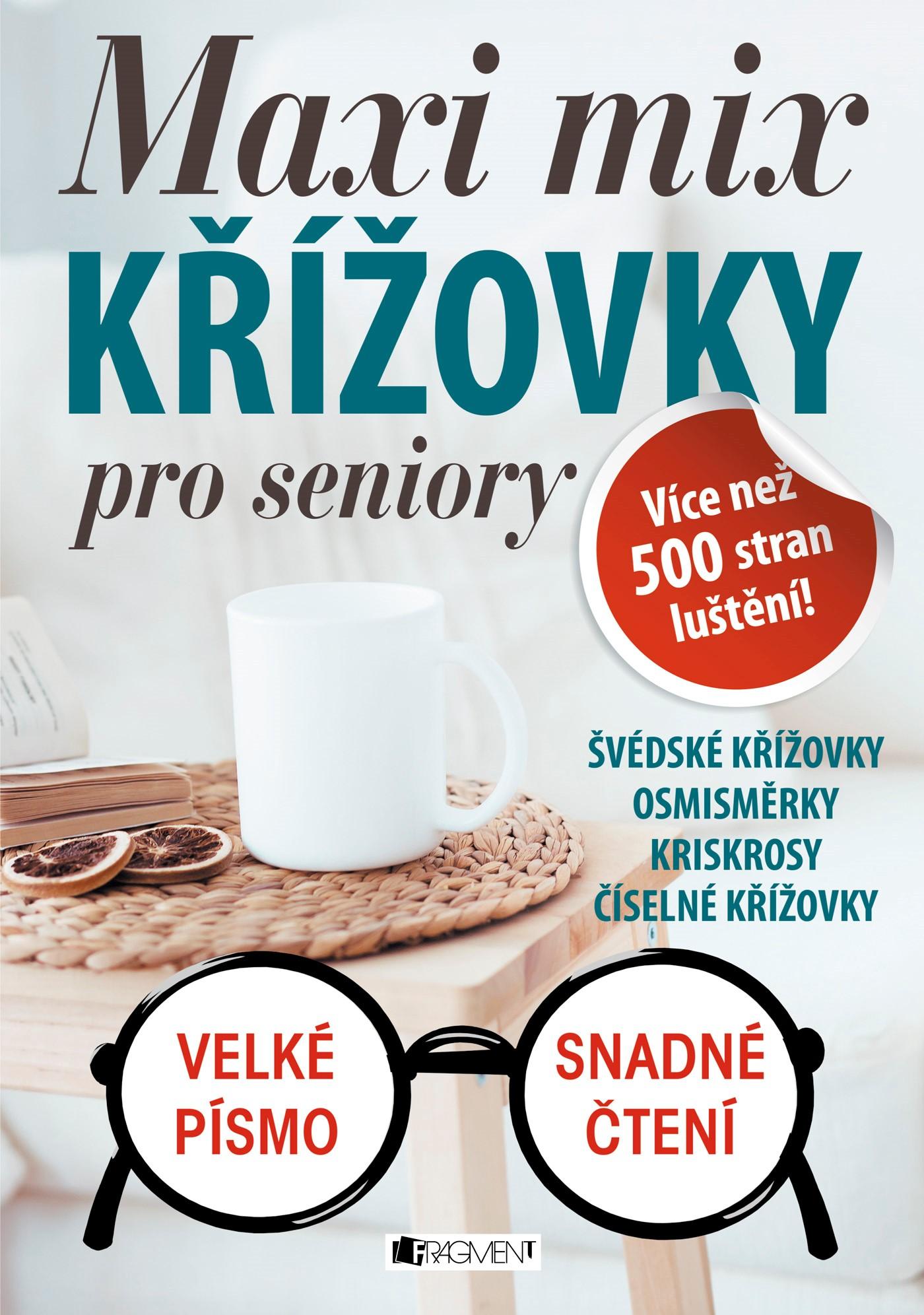 Maxi mix - Křížovky pro seniory | ŽKV