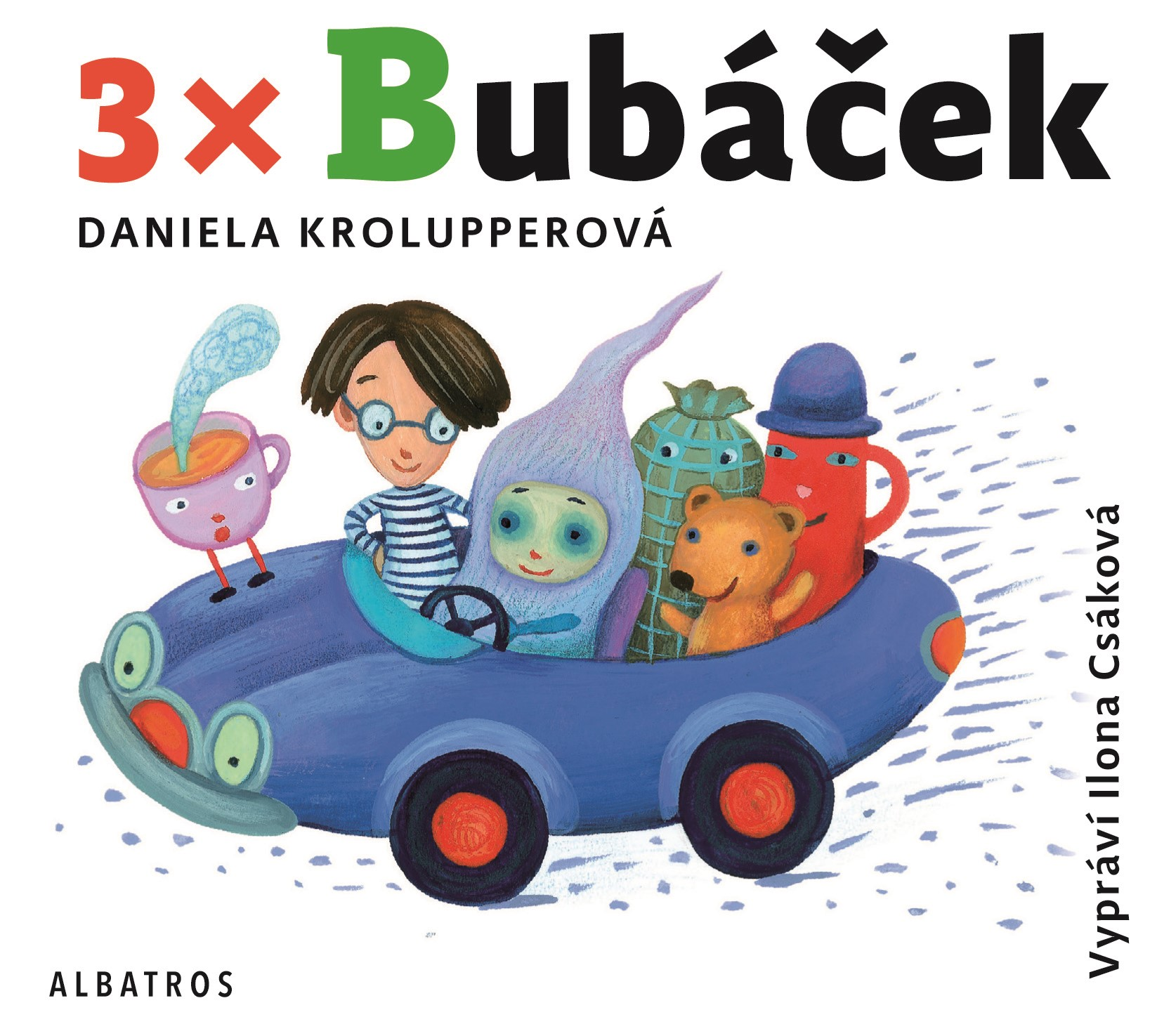 3x Bubáček (audiokniha pro děti) | Daniela Krolupperová