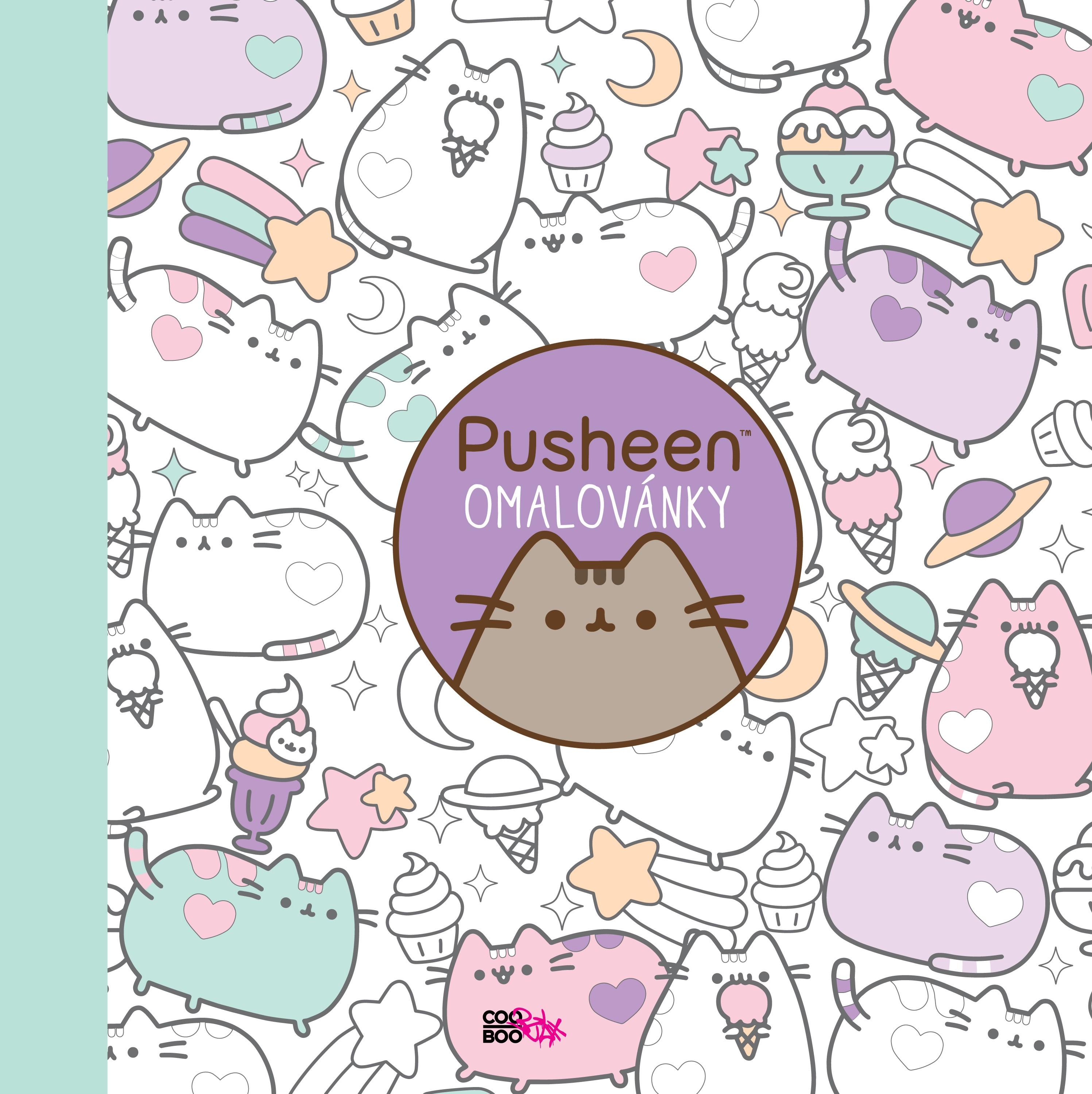 Pusheen - omalovánky | Claire Beltonová