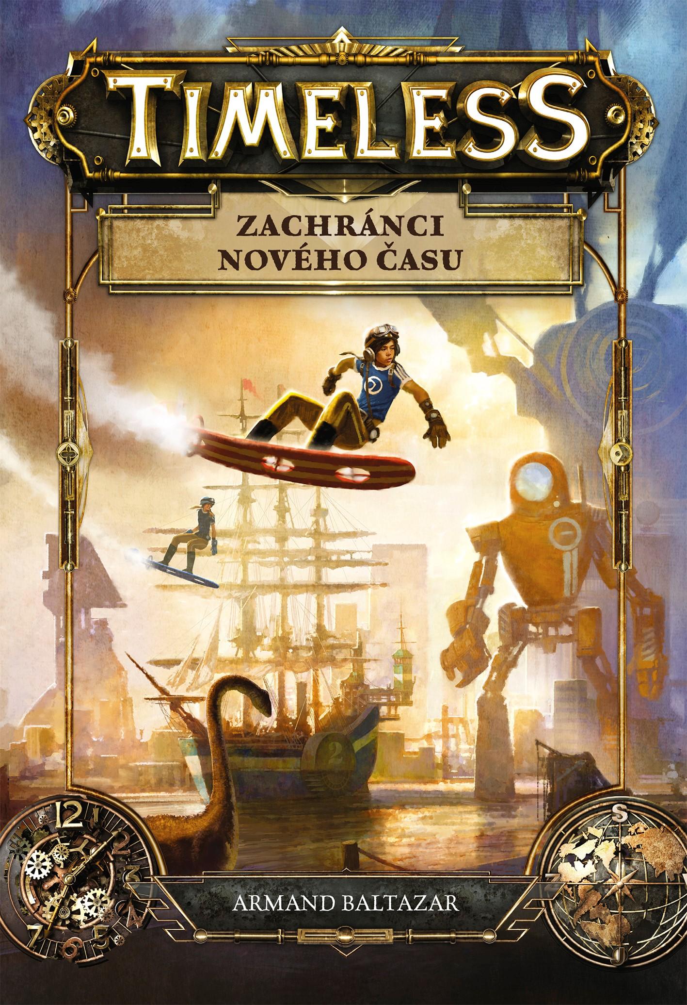 TIMELESS - ZACHRÁNCI NOVÉHO ČASU