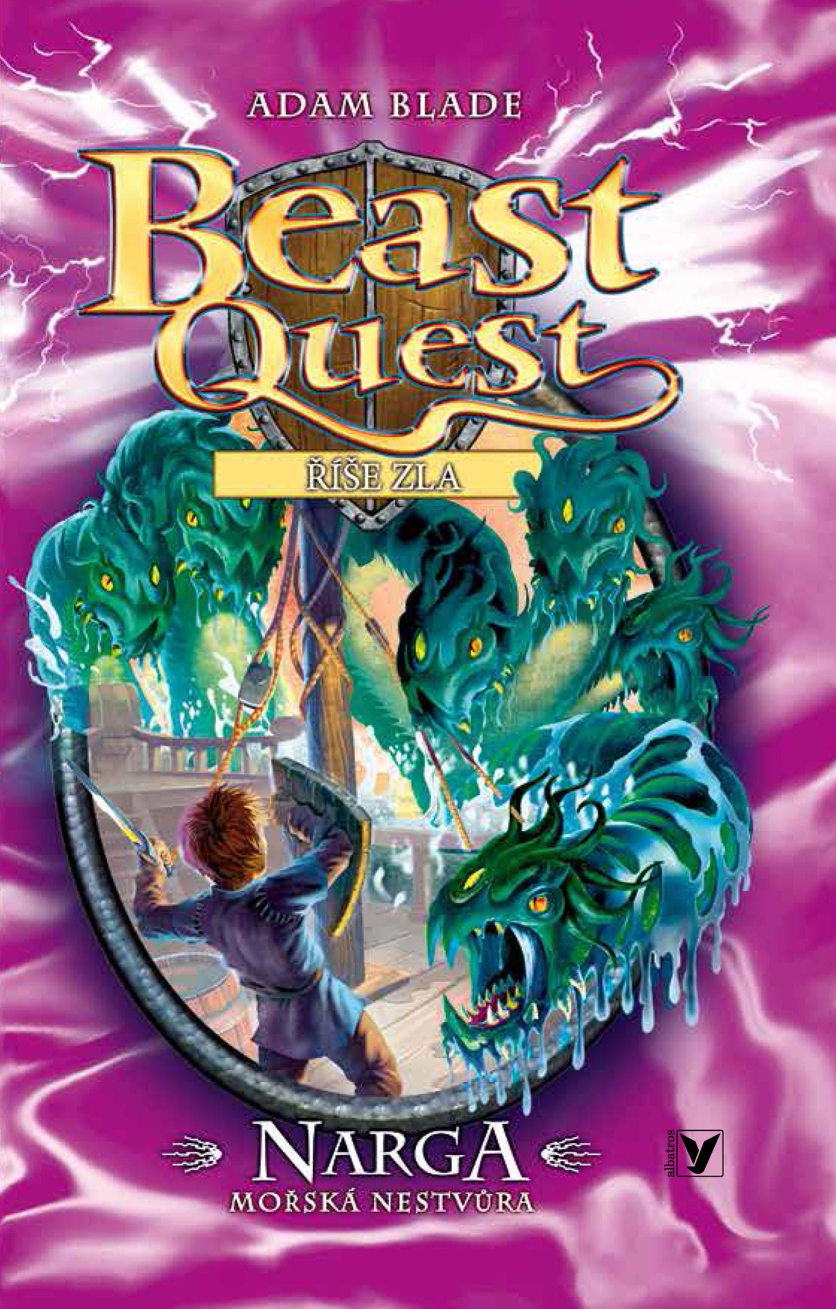 Narga, mořská nestvůra - Beast Quest (15)