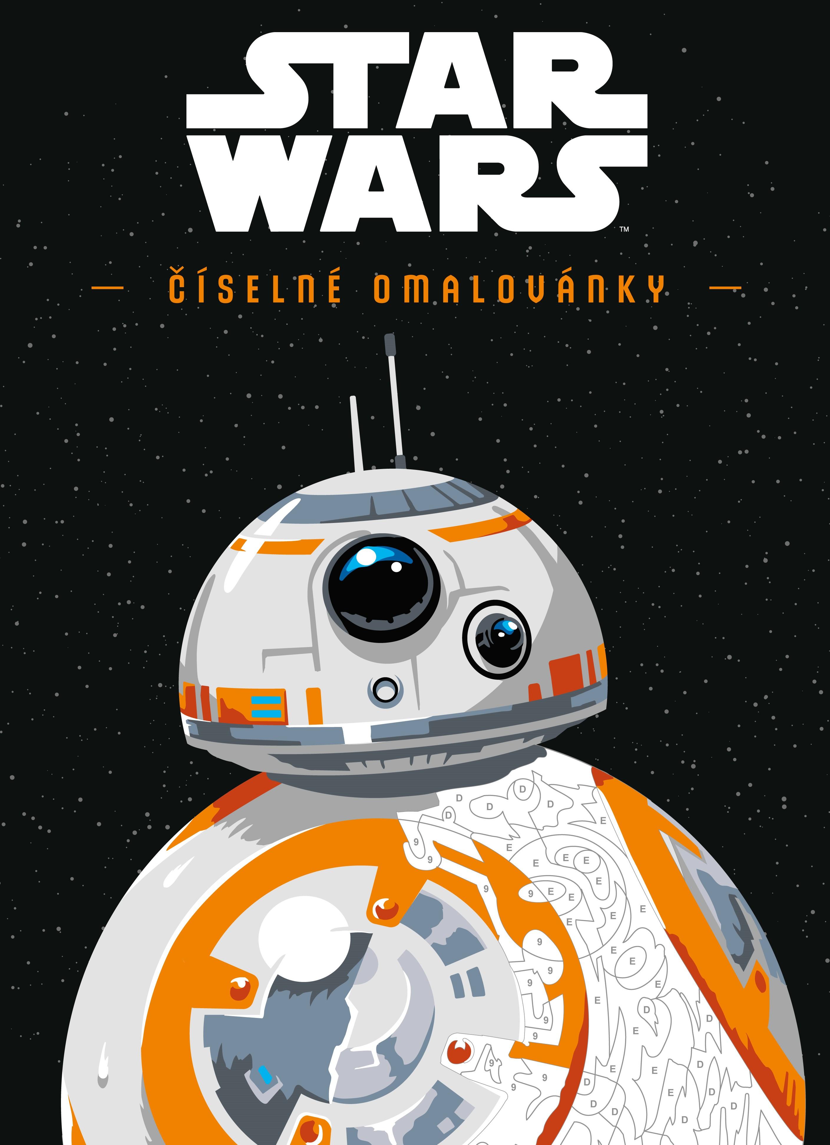 STAR WARS: Číselné omalovánky   kolektiv