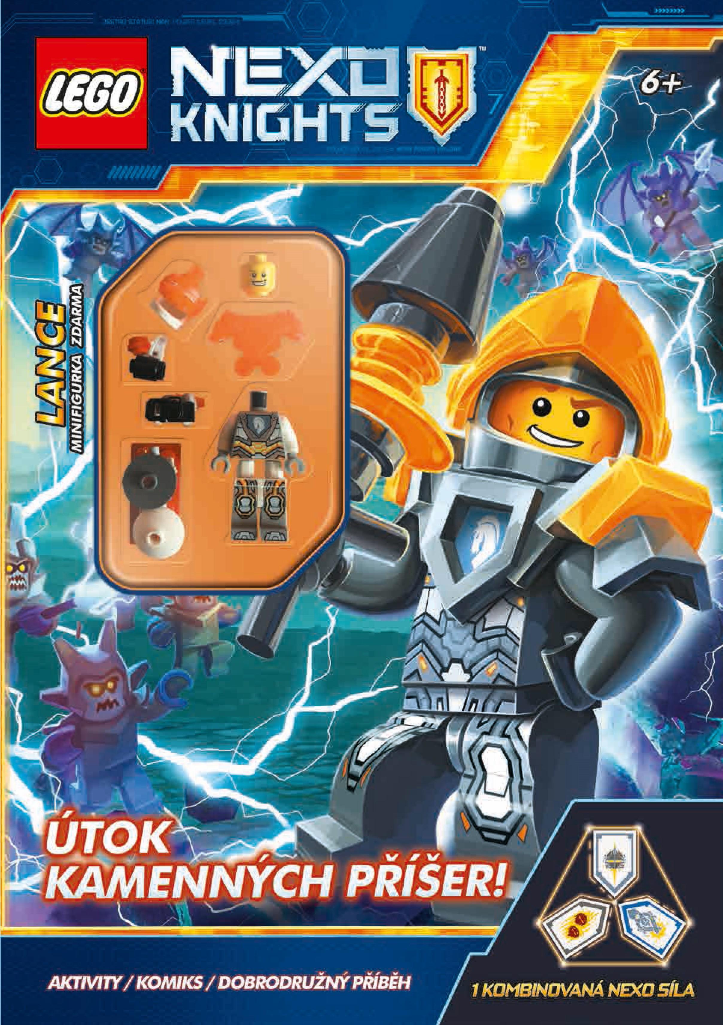 LEGO® NEXO KNIGHTS™ Útok kamenných příšer! | kolektiv