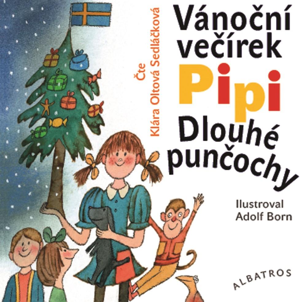 Vánoční večírek Pipi Dlouhé punčochy (audiokniha pro děti)