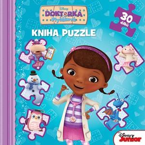 Doktorka Plyšáková - Kniha puzzle 30 dílků