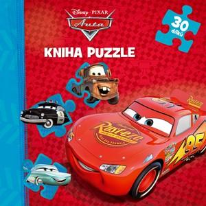 Auta - Kniha puzzle - 30 dílků