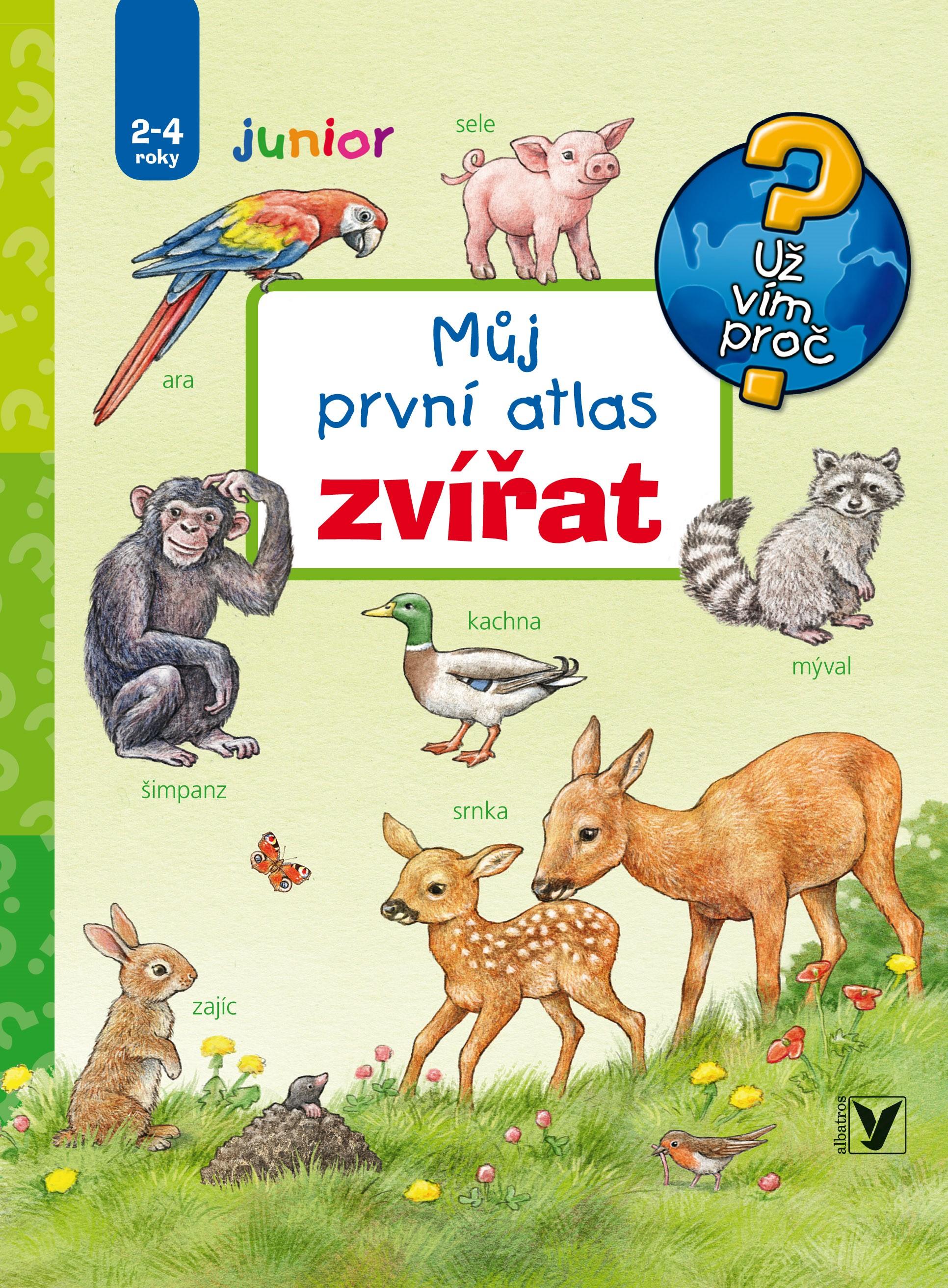 Můj první atlas zvířat | Anne Möllerová