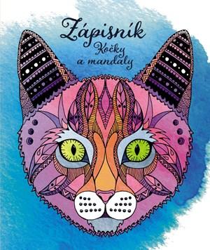 Zápisník pro holky - kočky a mandaly
