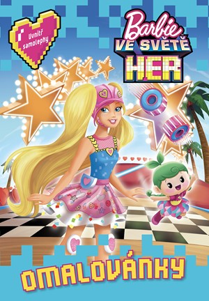 Barbie ve světě her Omalovánky | kolektiv
