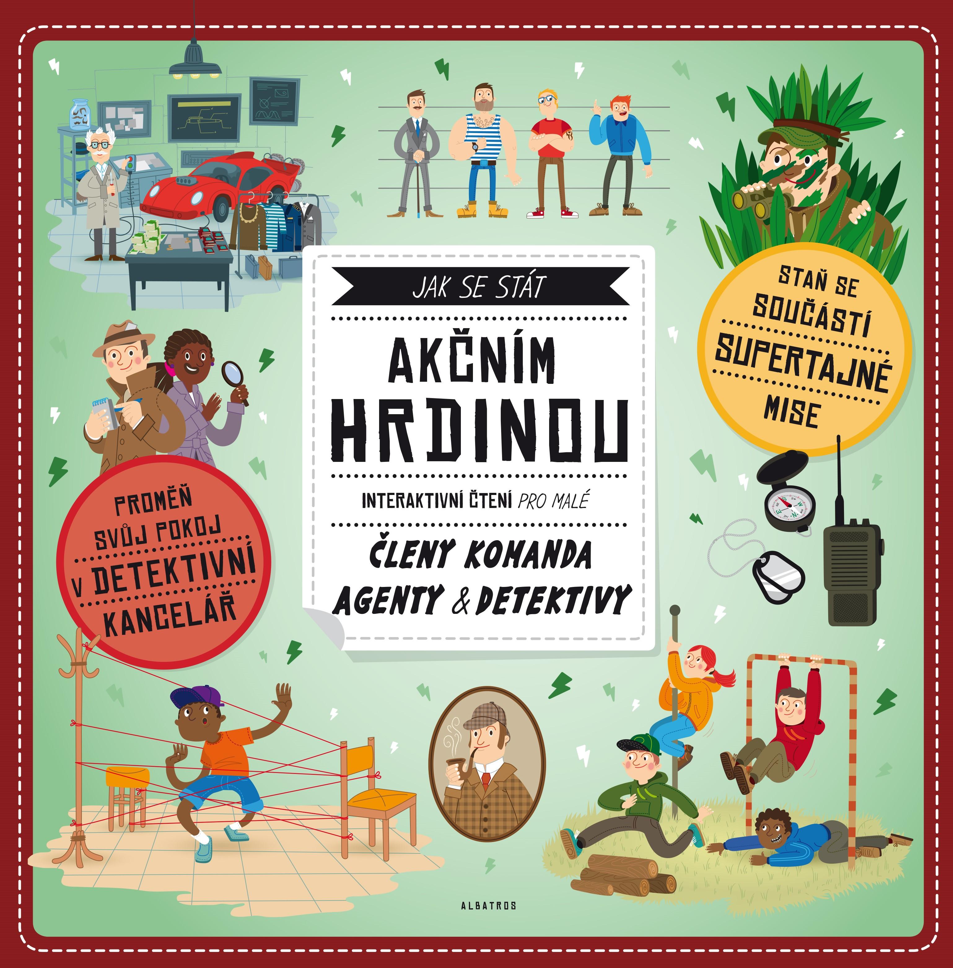 Jak se stát akčním hrdinou | Andrea Brázdová, Martin Šojdr (Puk-Puk)