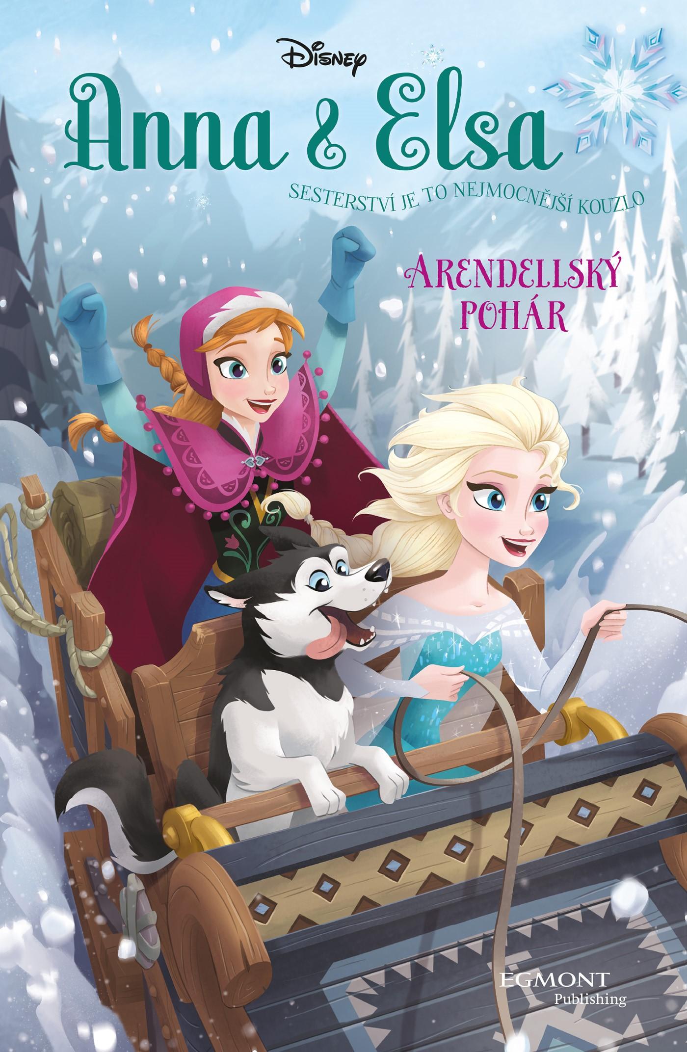 Anna a Elsa Arendellský pohár | Erica David