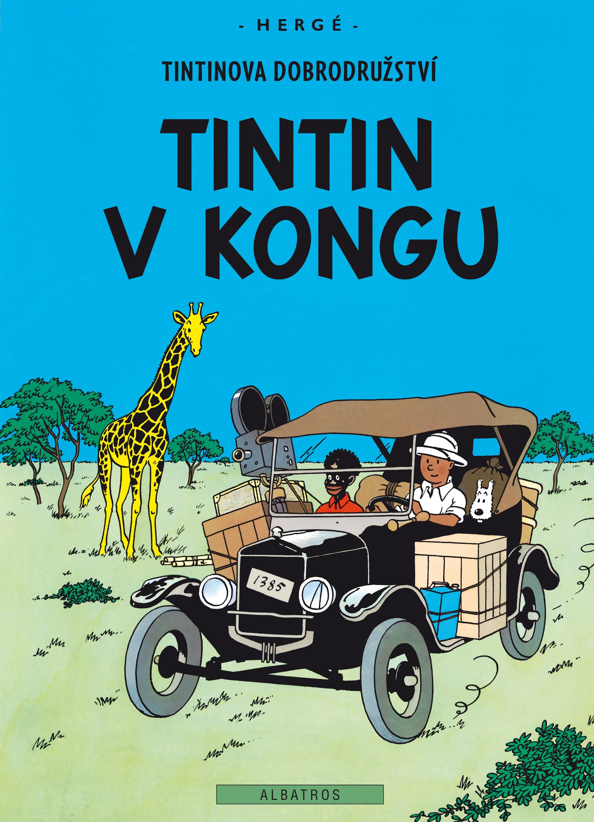 Tintin 2 - Tintin v Kongu