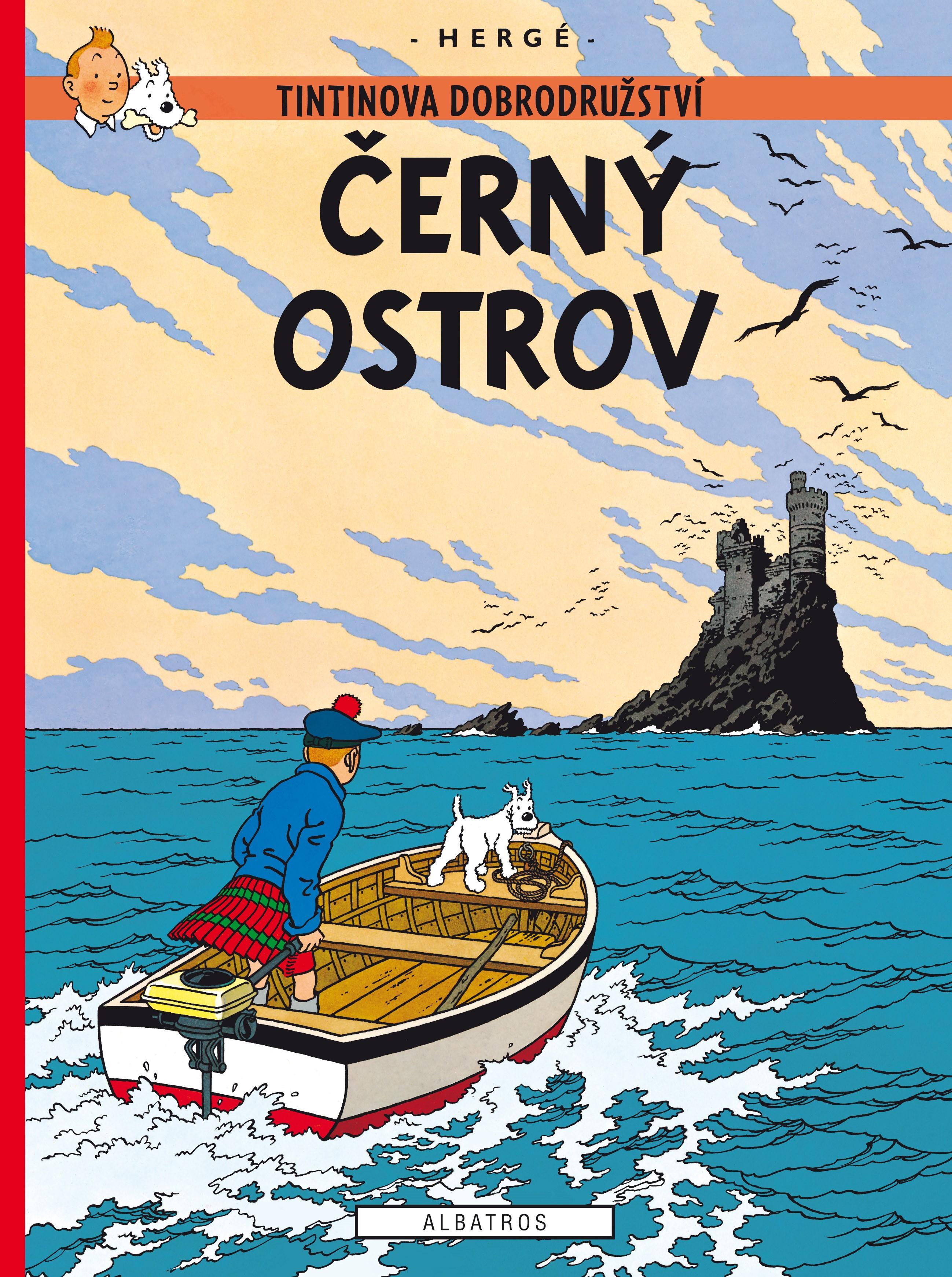 Tintin 7 - Černý ostrov