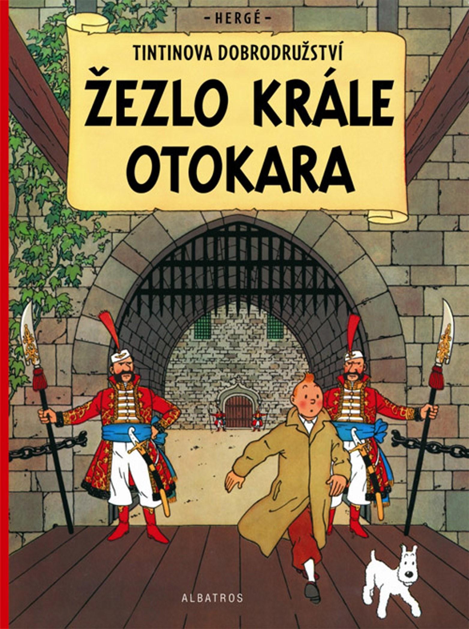 Tintin 8 - Žezlo krále Ottokara