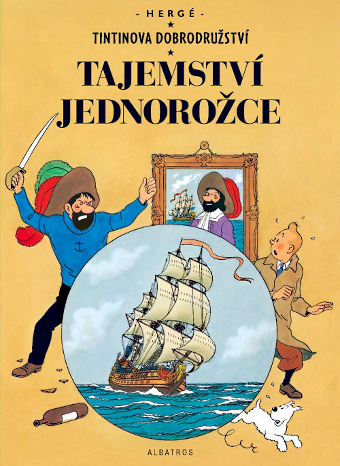 Tintin 11 - Tajemství Jednorožce