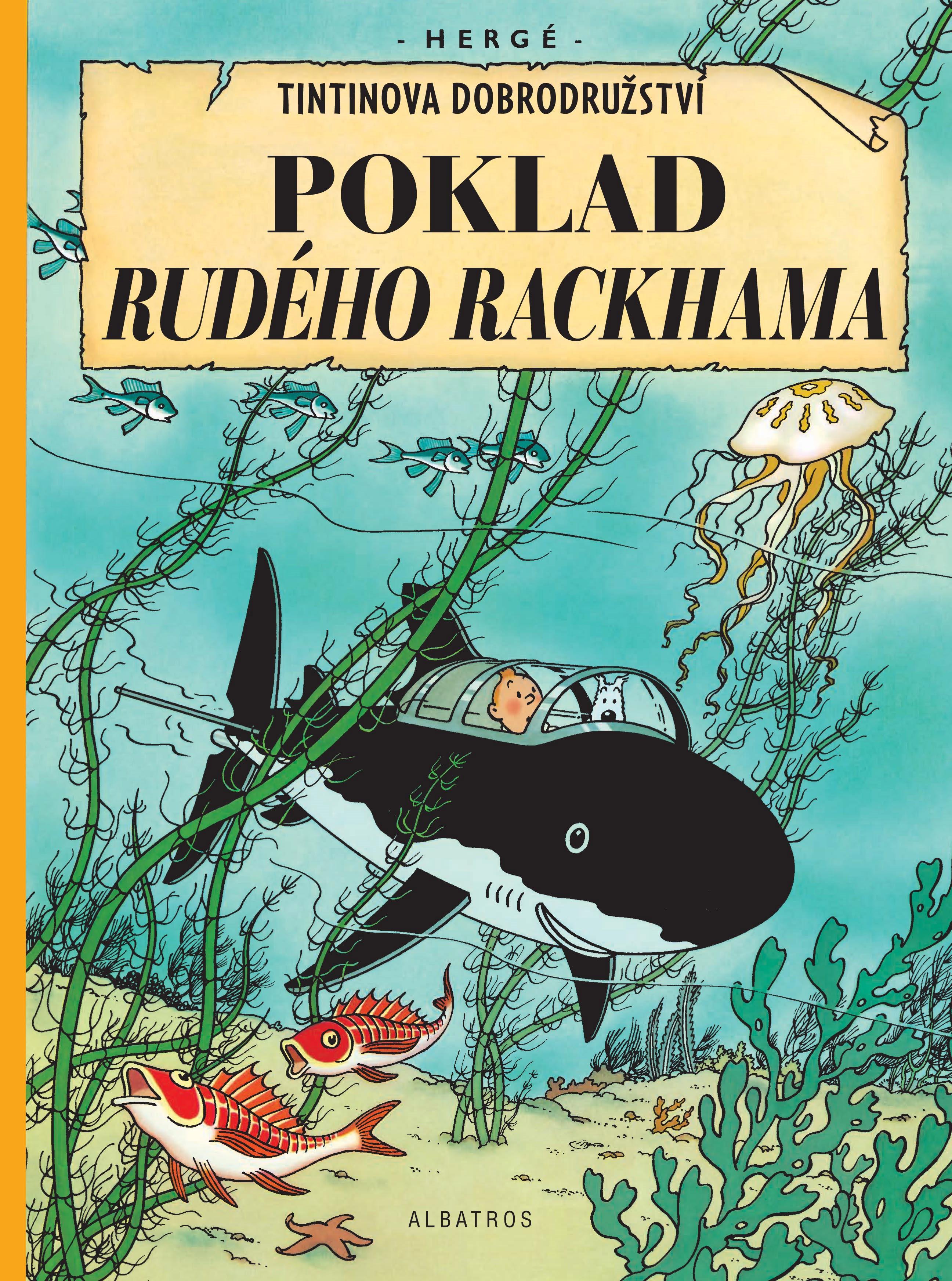 Tintin 12 - Poklad Rudého Rackhama