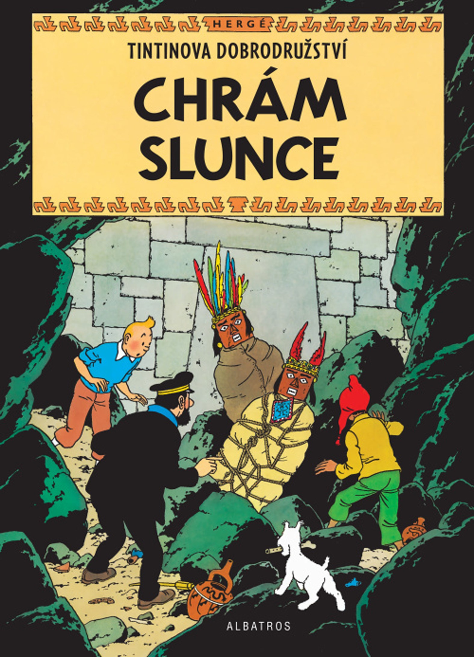 Tintin 14 - Chrám Slunce