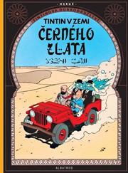 Tintin 15 - Tintin v zemi černého zlata