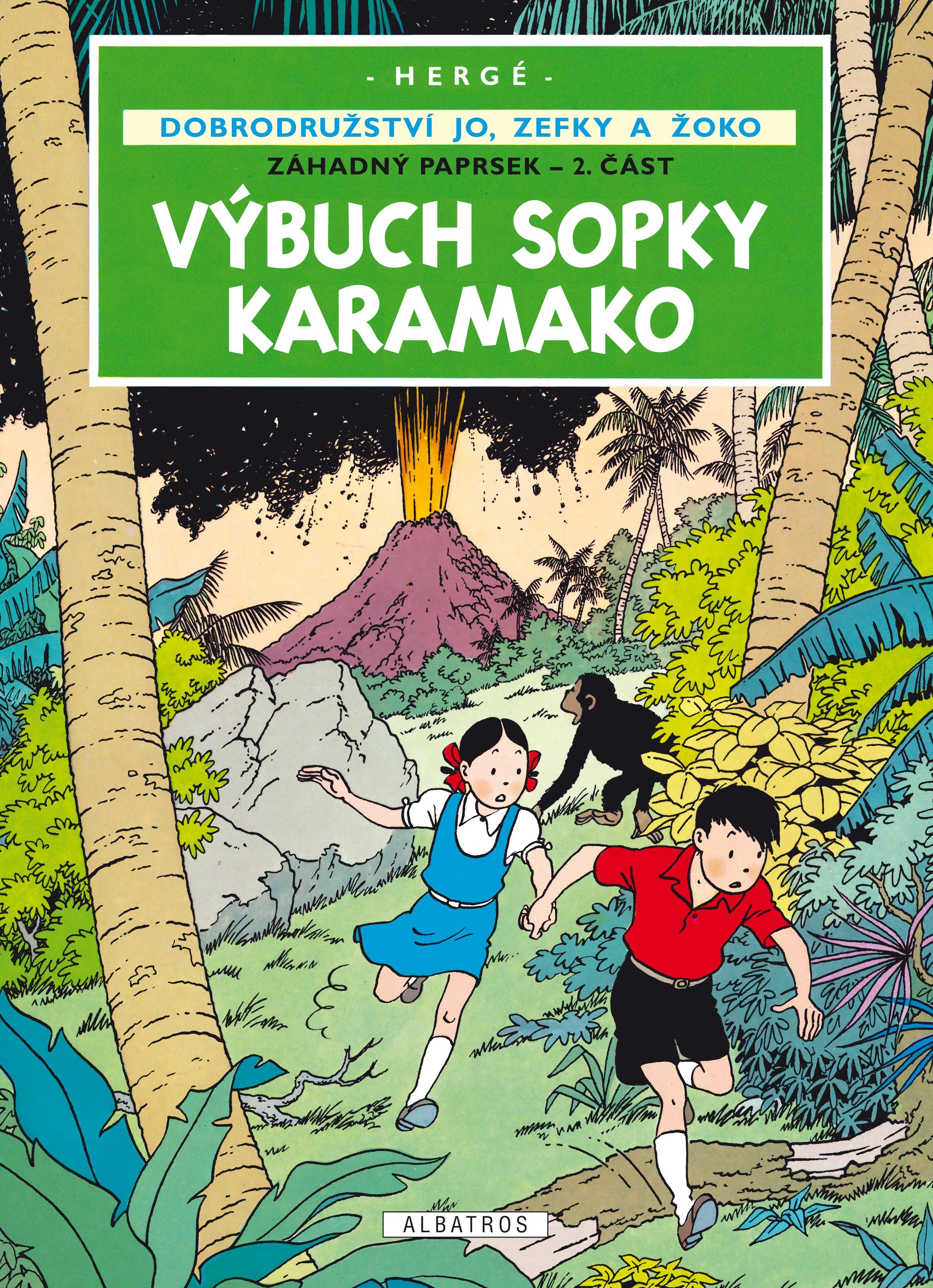 Jo, Zefka a Žoko (4) - Výbuch sopky Karamako