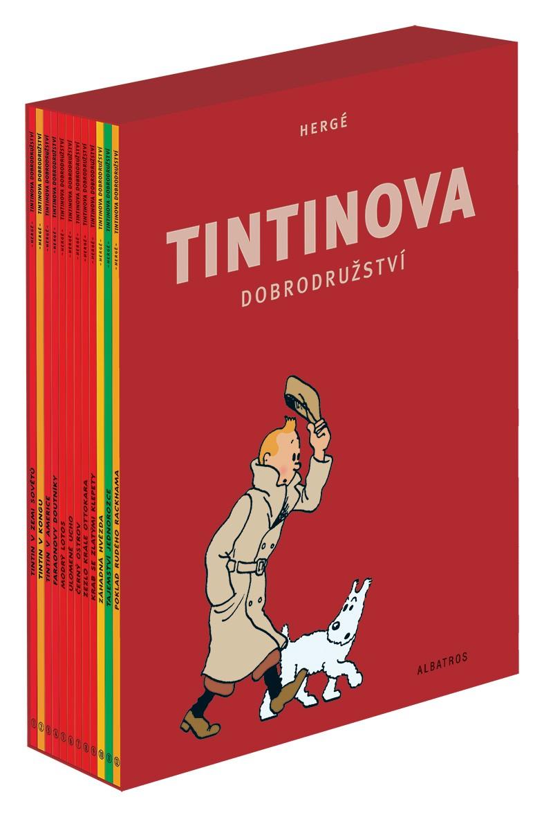 Tintinova dobrodružství - kompletní vydání 1-12