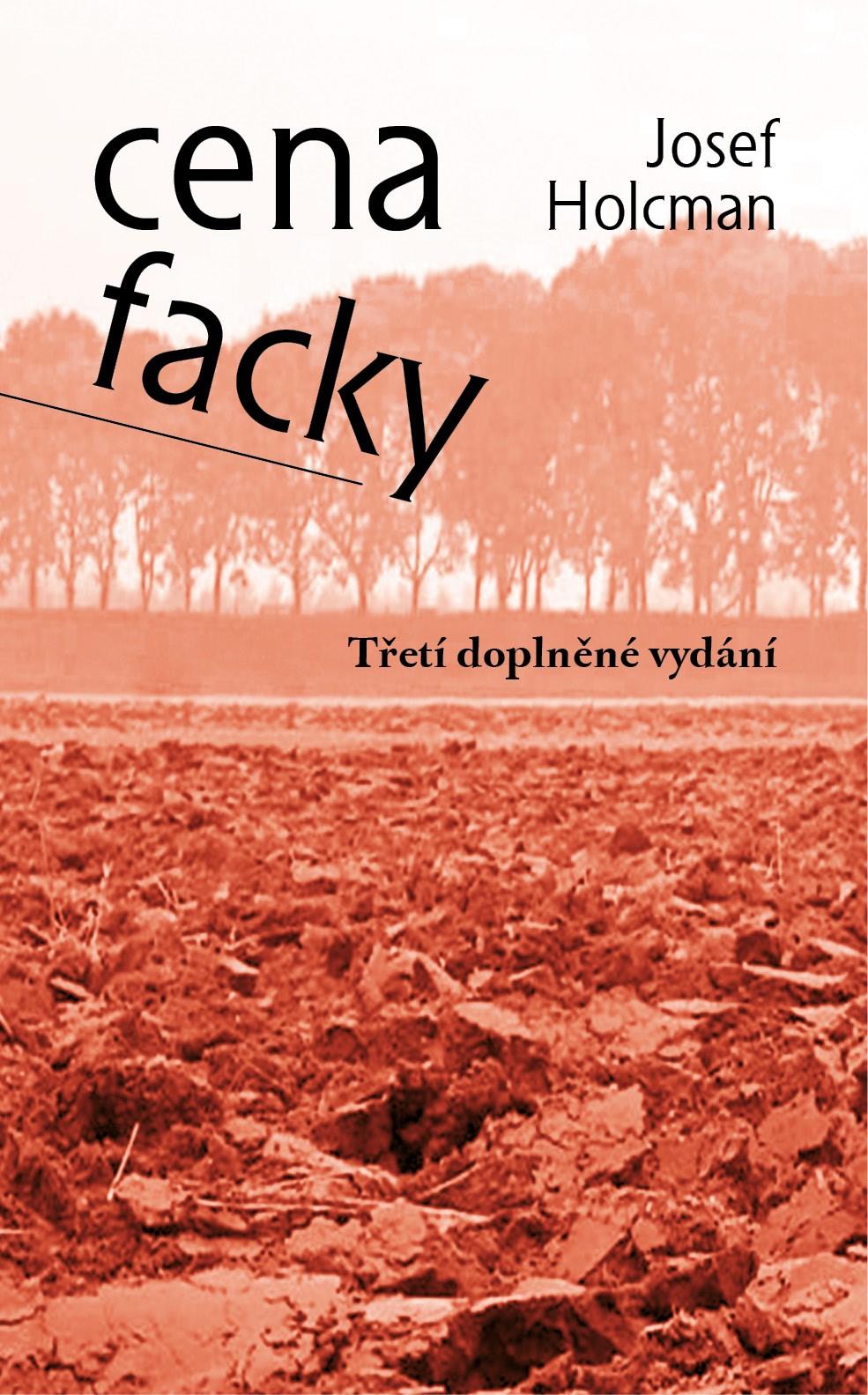 Cena facky - třetí vydání | Josef Holcman