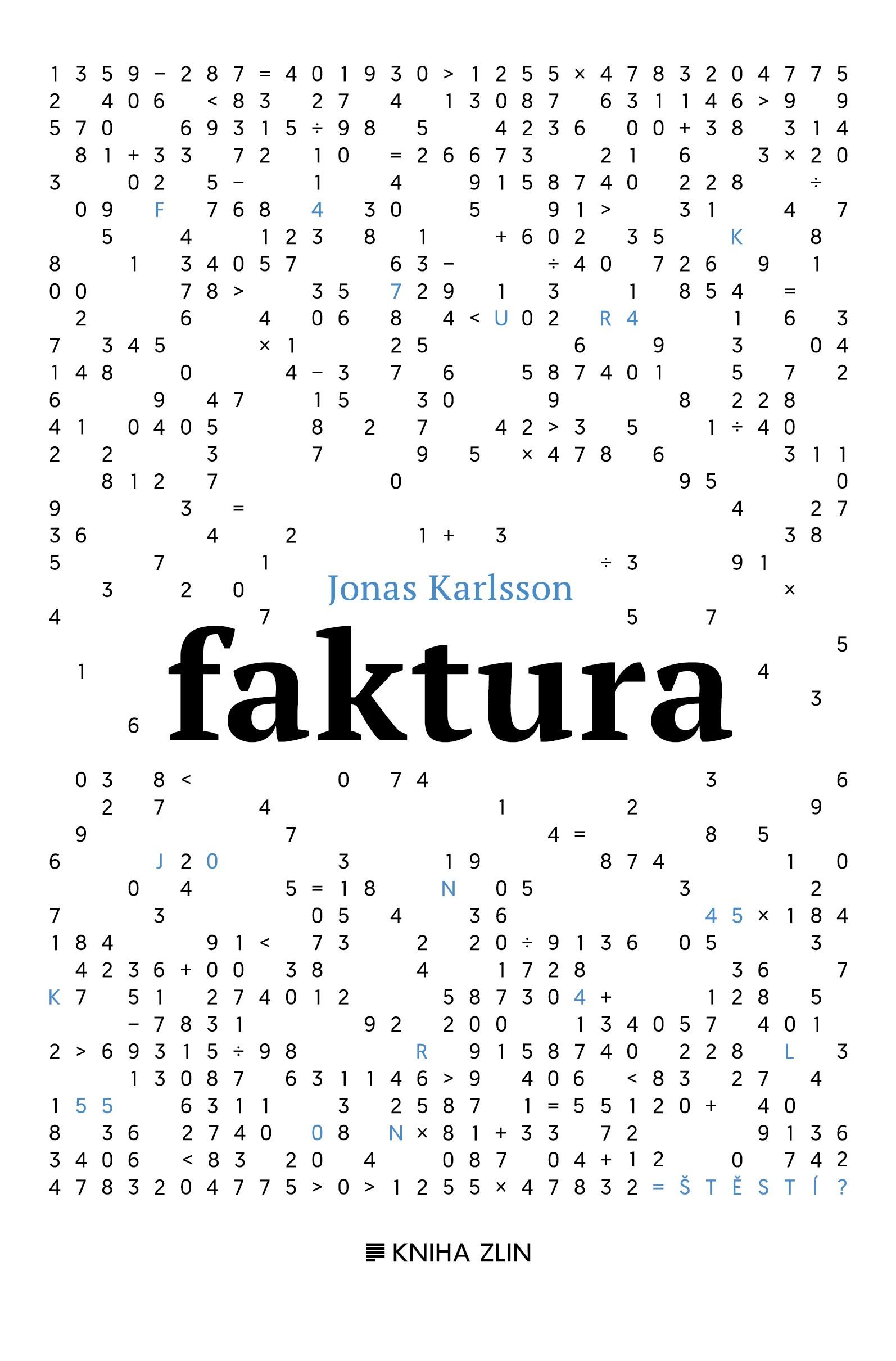 Faktura | Jonas Karlsson, Martina Kašparová