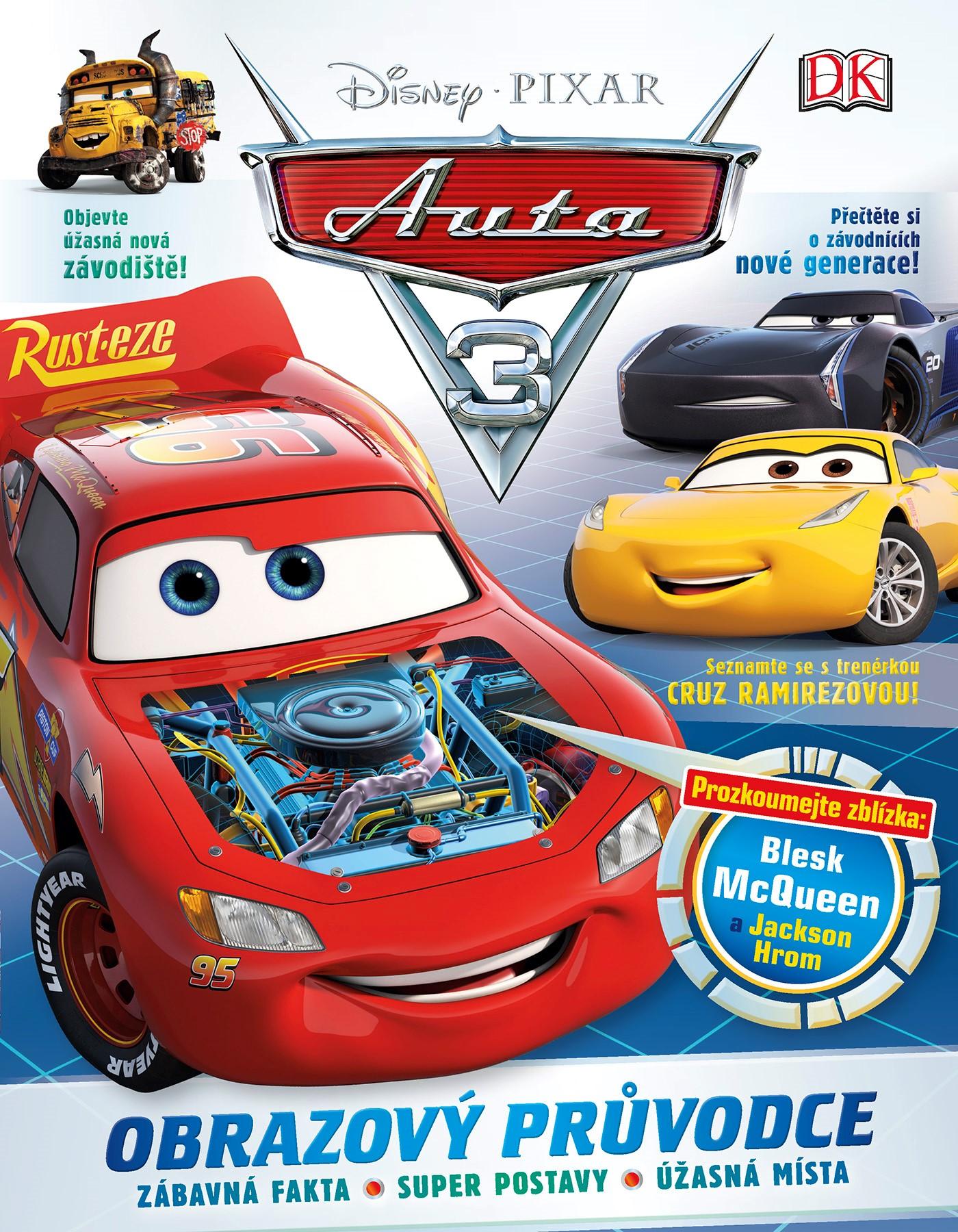 Auta 3 - Obrazový průvodce