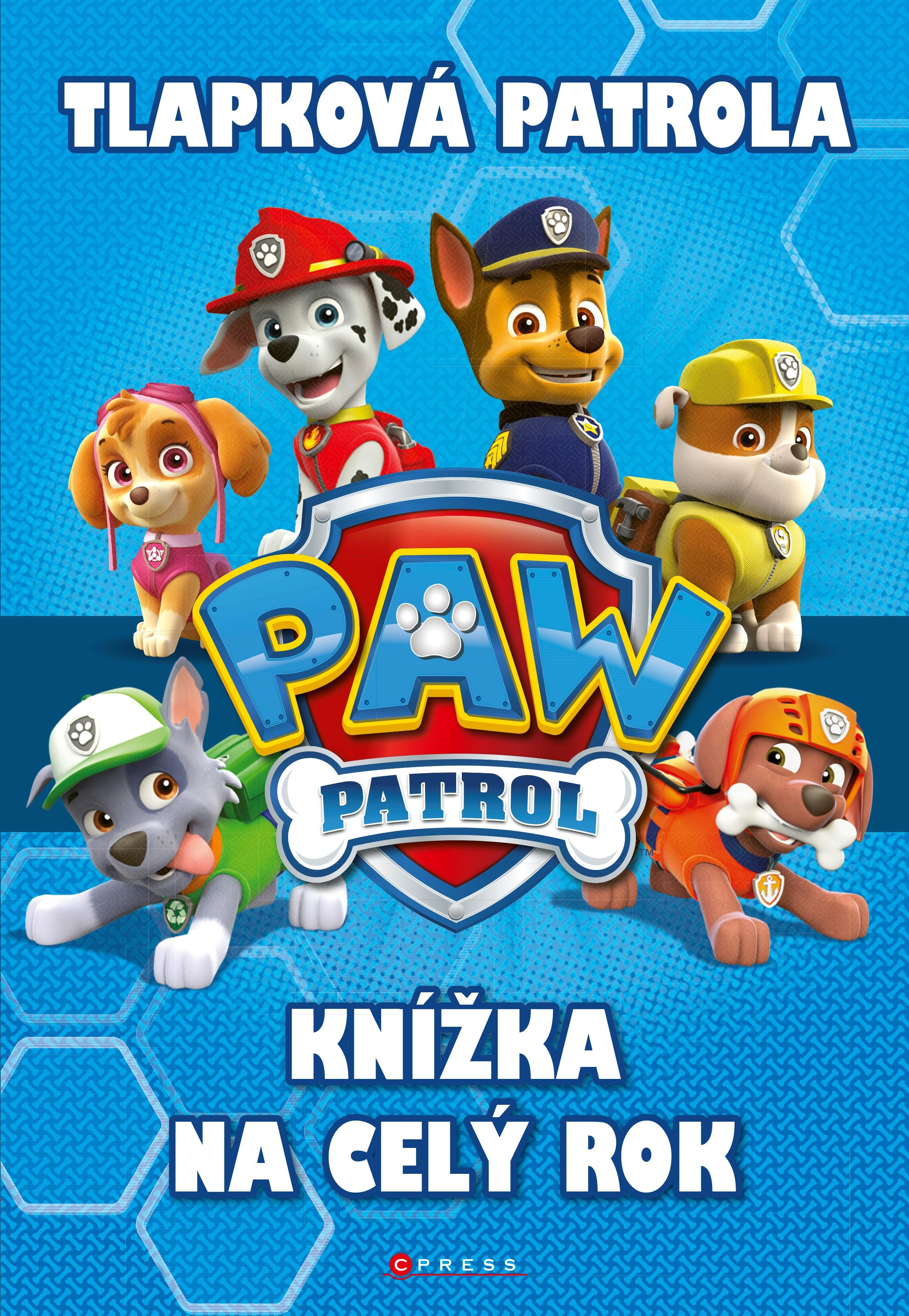Tlapková patrola - Knížka na celý rok