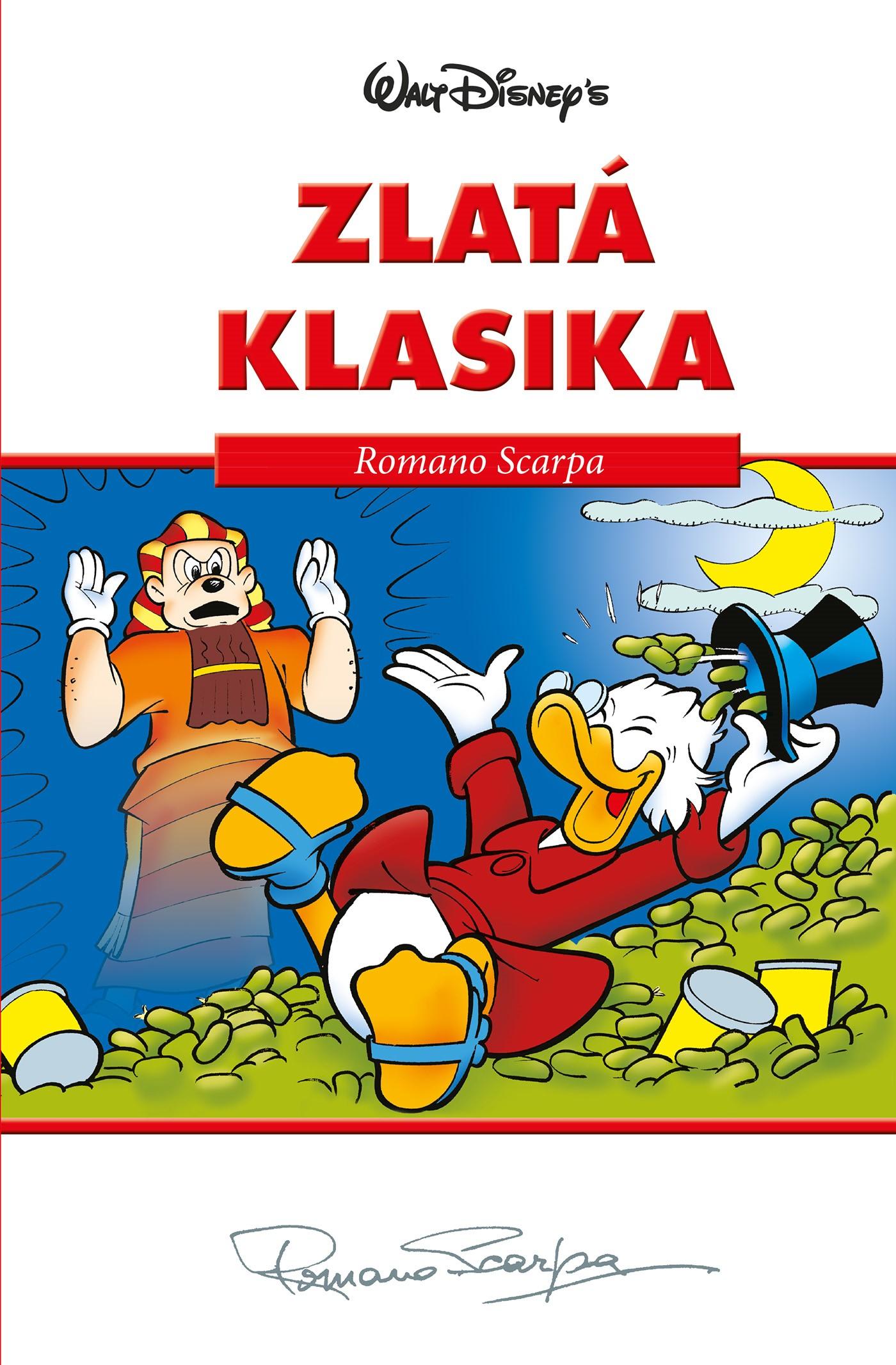 Disney Zlatá klasika Romano Scarpa