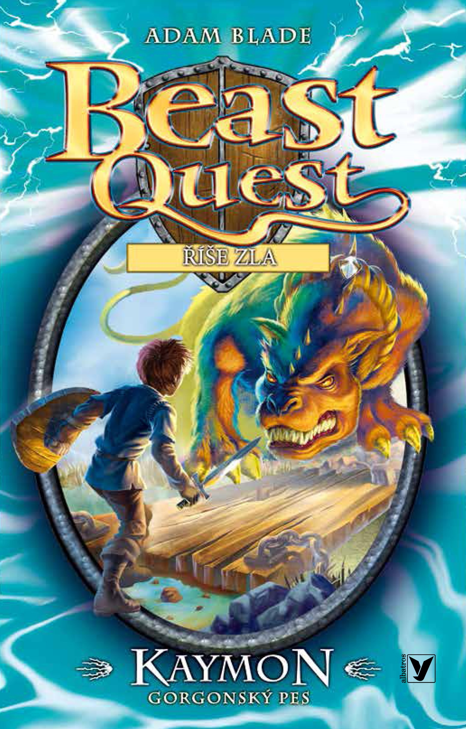 Kaymon, gorgonský pes - Beast Quest (16)