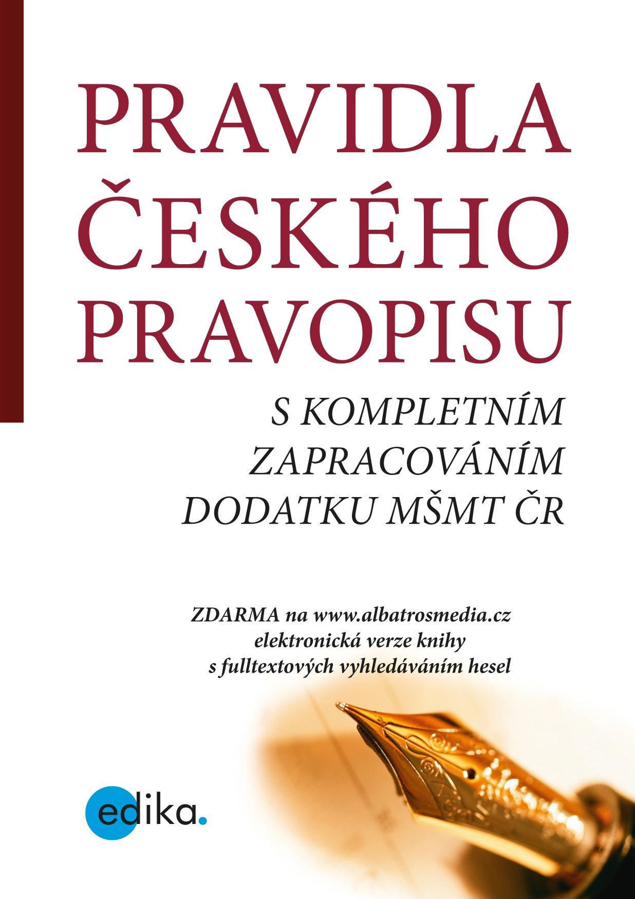 Pravidla českého pravopisu | TZ-one