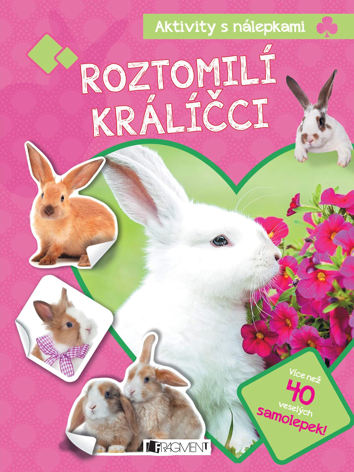 Aktivity s nálepkami – Roztomilí králíčci