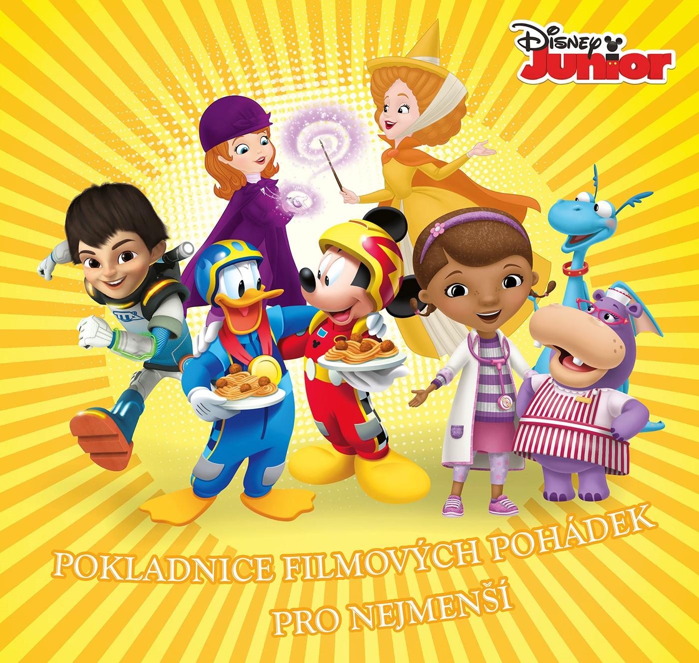 Disney Junior - Pokladnice filmových pohádek pro nejmenší