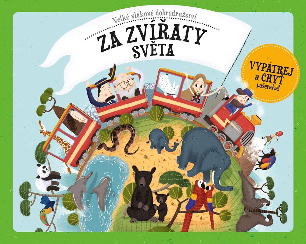 Velké vlakové dobrodružství za zvířaty světa | Štěpánka Sekaninová