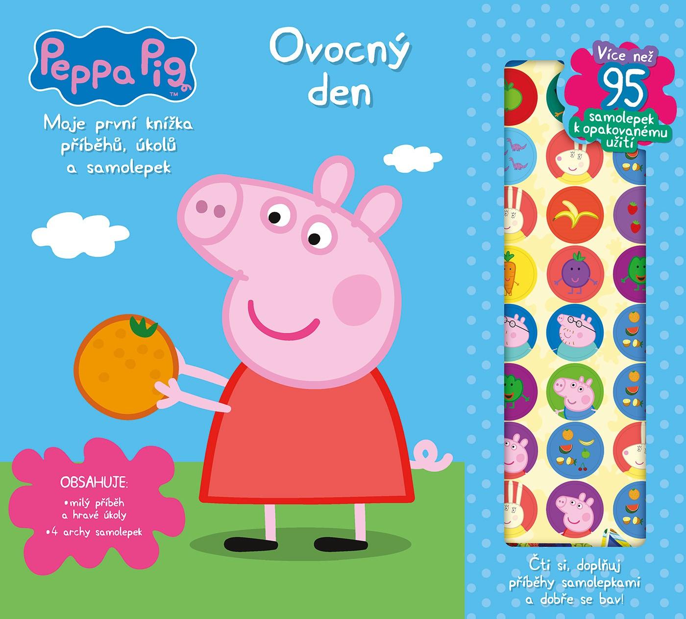 Peppa Pig - Moje první knížka příběhů a aktivit