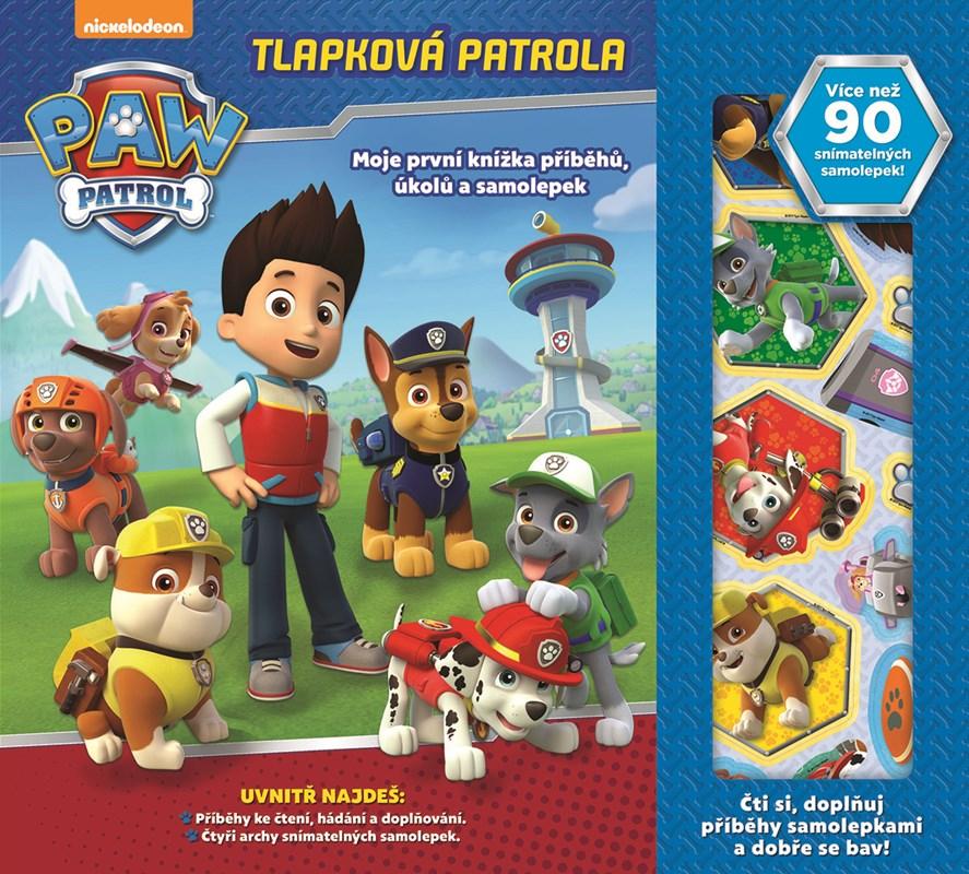 Tlapková patrola - Moje první knížka příběhů a aktivit