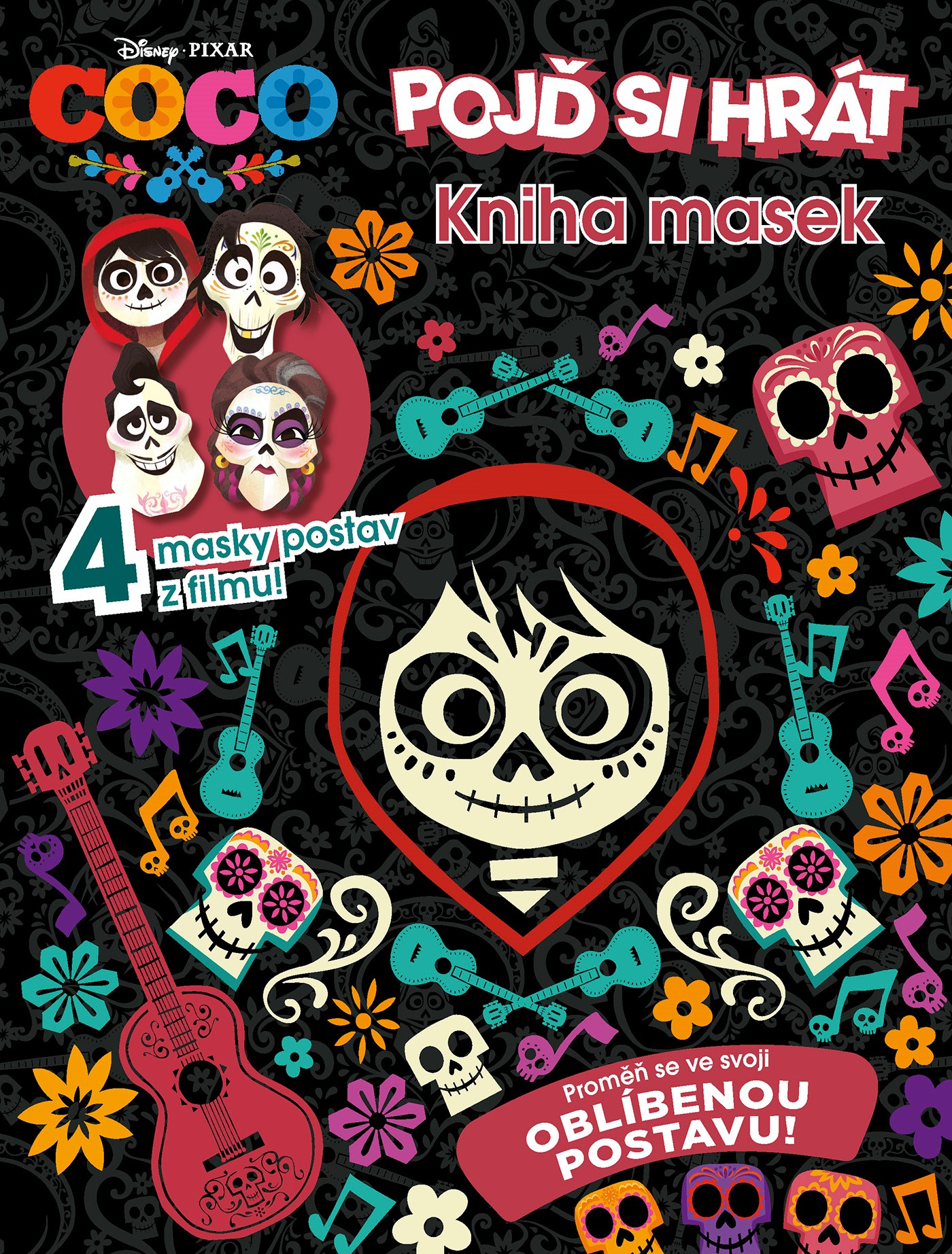 Coco - Kniha masek