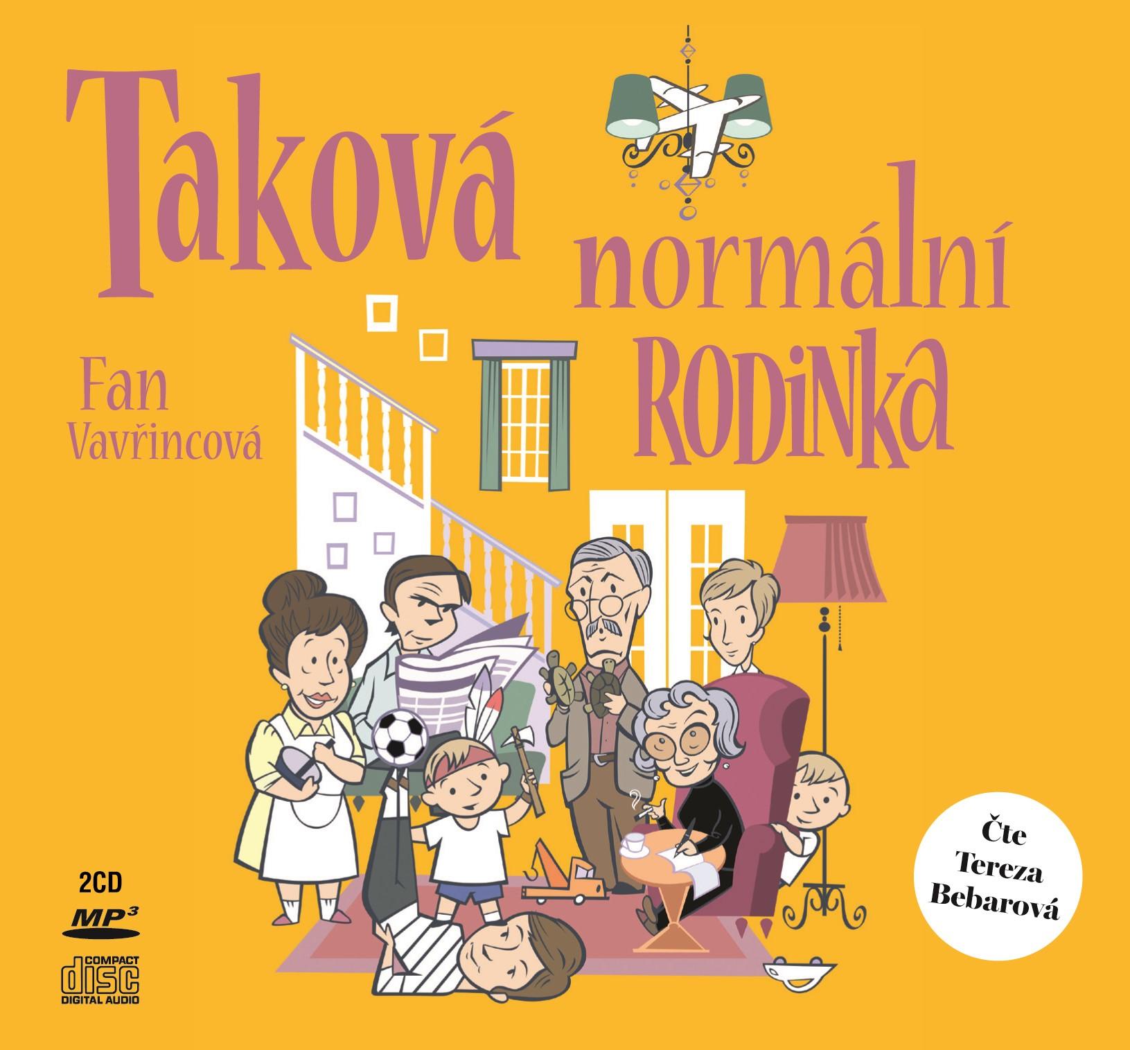 Taková normální rodinka (audiokniha) | Fan Vavřincová