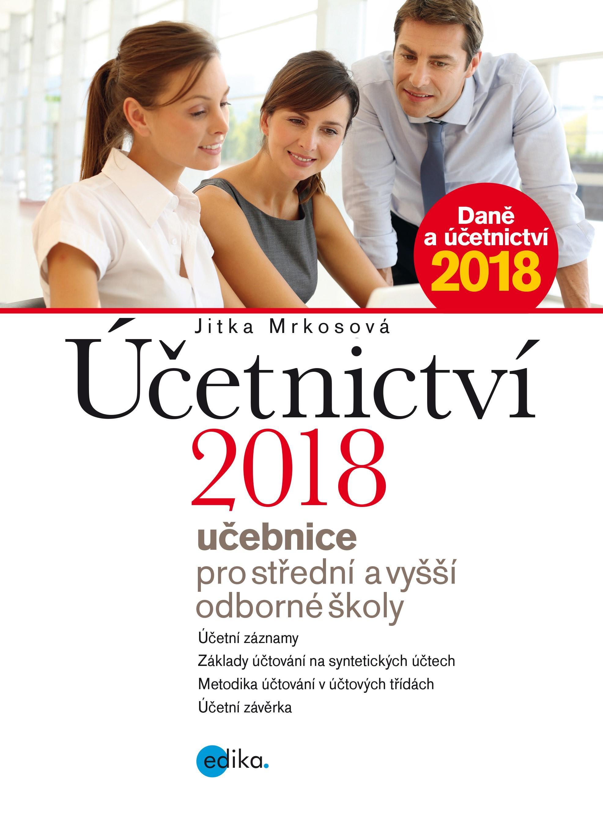 Účetnictví 2018, učebnice pro SŠ a VOŠ