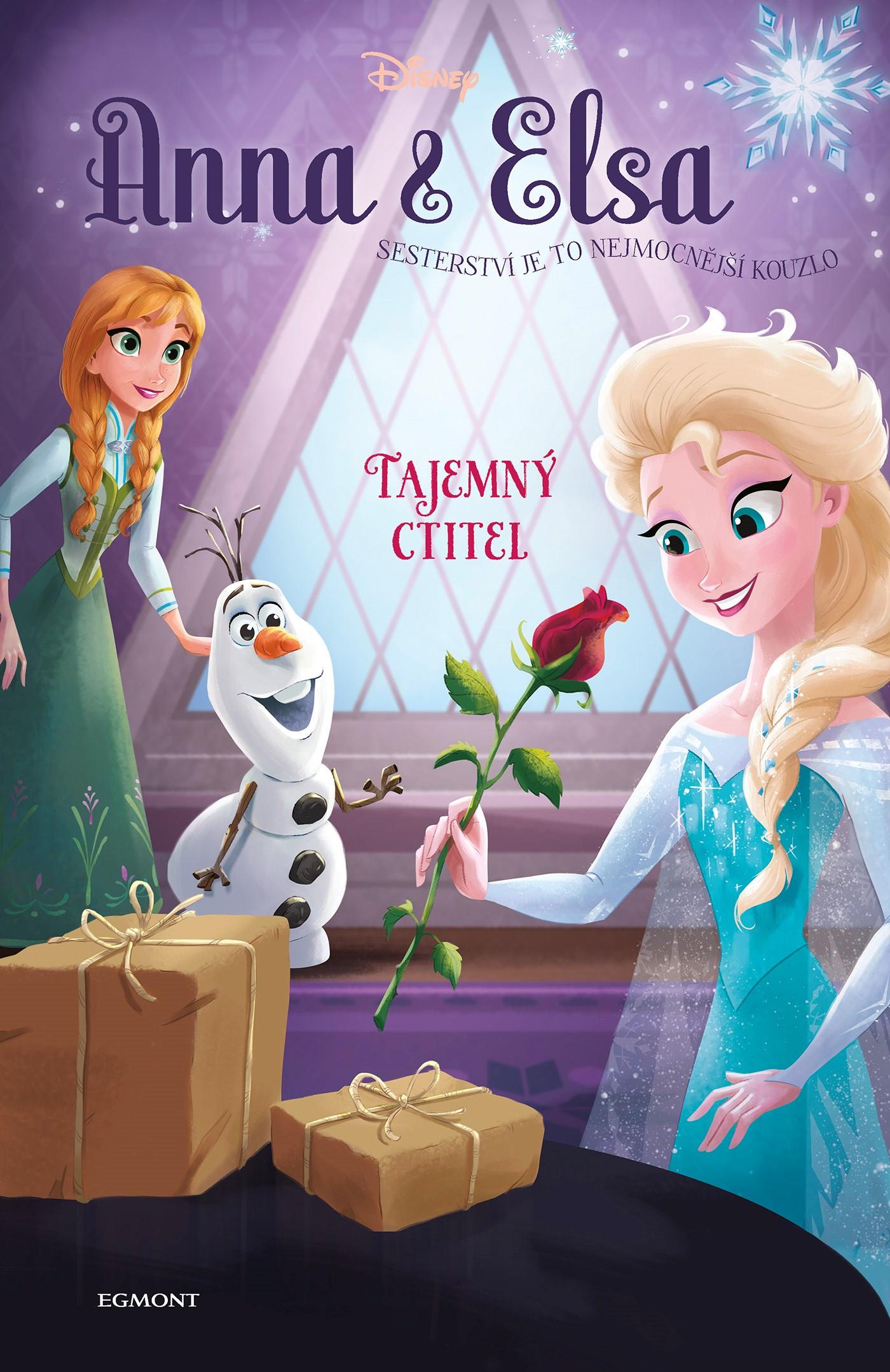 Anna a Elsa Tajemný ctitel