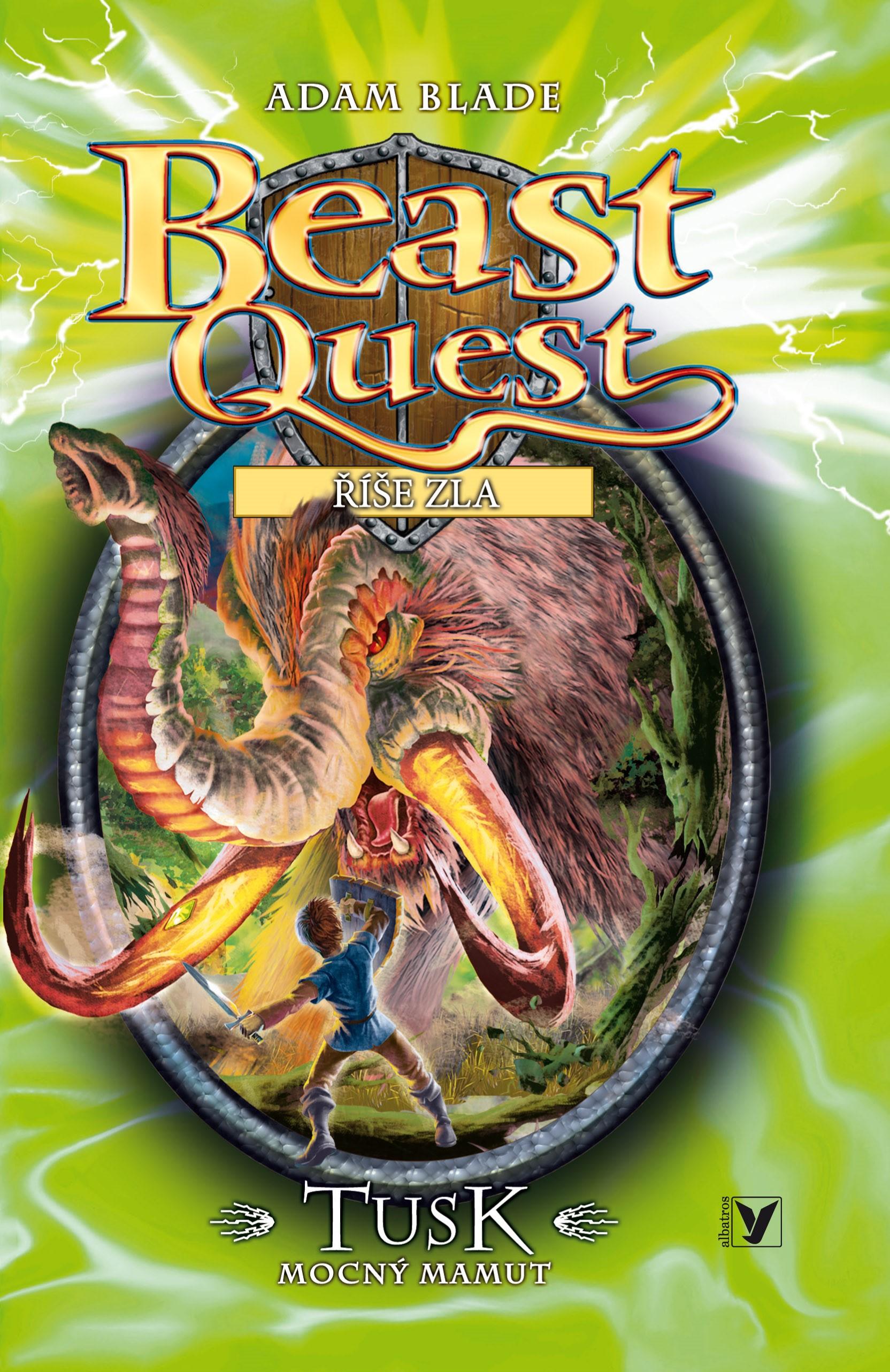 Tusk, mocný mamut - Beast Quest (17)