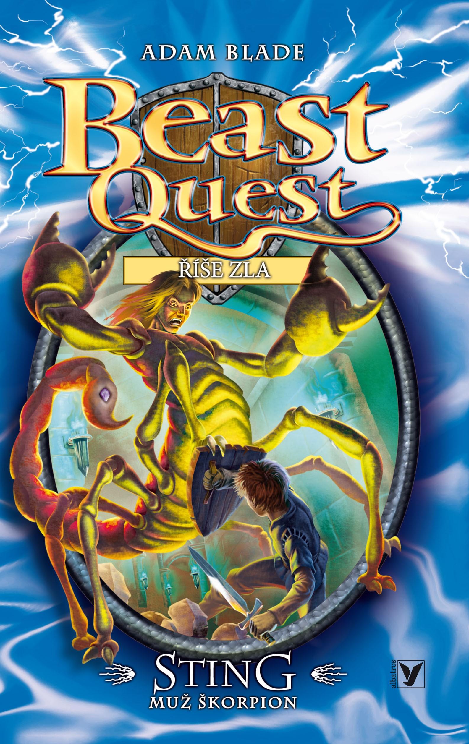Sting, muž škorpion - Beast Quest (18)