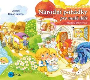 Národní pohádky pro malé děti (audiokniha pro děti) | Martina Drijverová