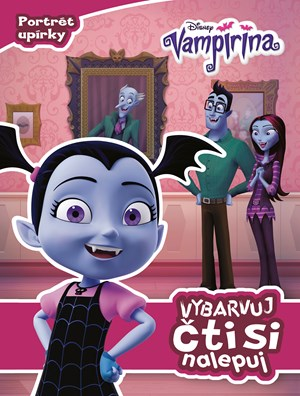 Vampirina - Vybarvuj, čti si, nalepuj