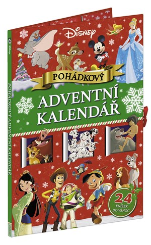 Disney - Pohádkový adventní kalendář