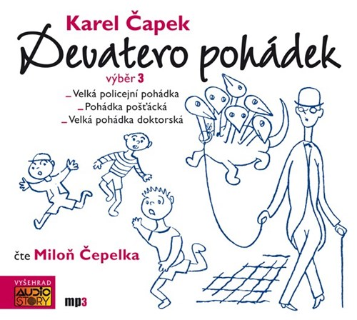 Devatero pohádek (Karel Čapek) CD/MP3
