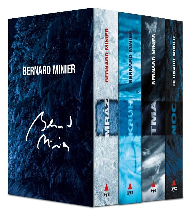 4 X BERNARD MINIER - BOX MRÁZ, KRUH, TMA, NOC