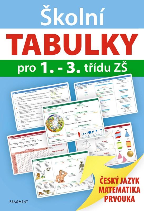 Levně Školní TABULKY pro 1.-3. třídu ZŠ   Antonín Šplíchal, autora nemá
