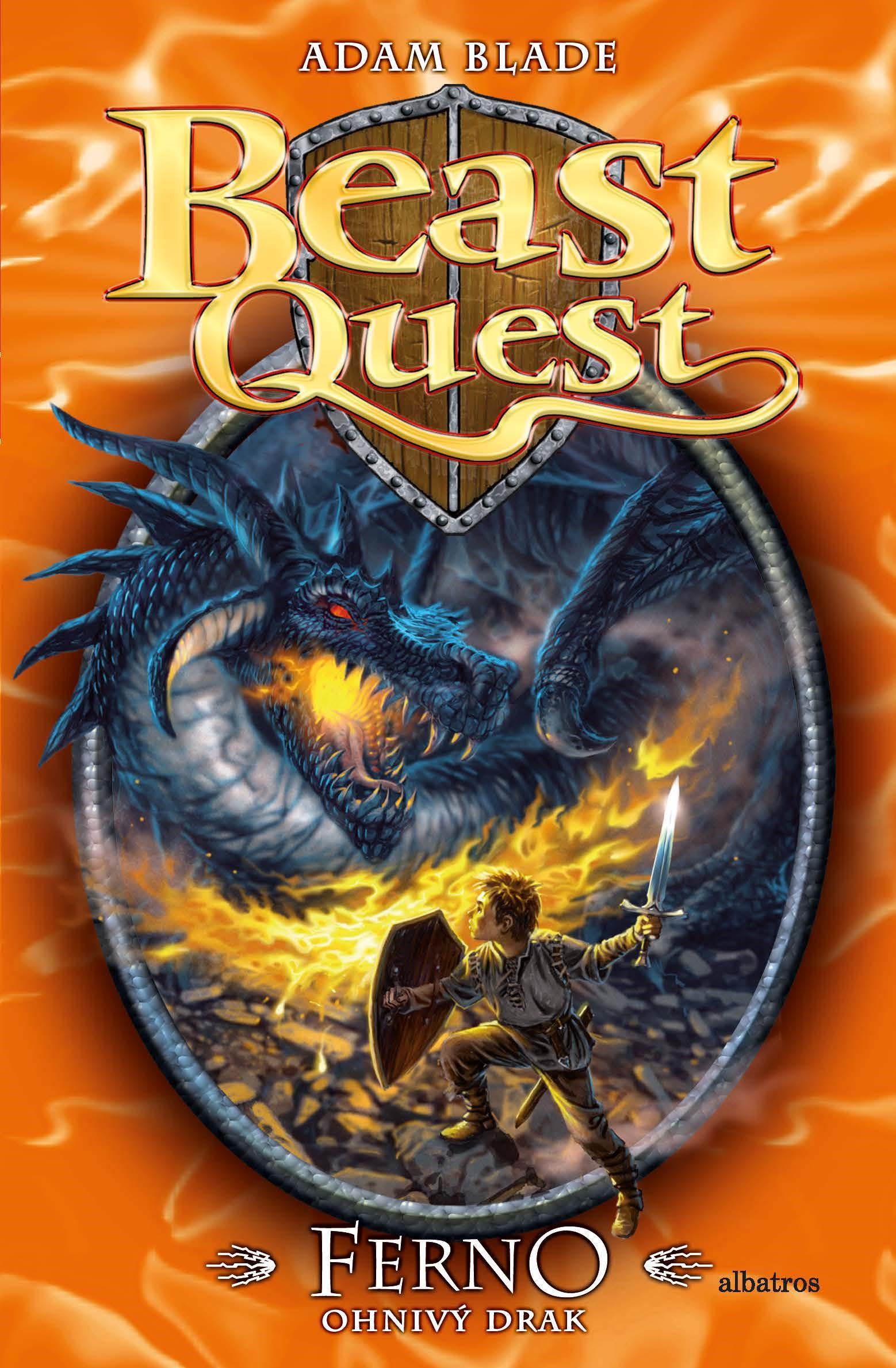 Ferno, ohnivý drak - Beast Quest (1)