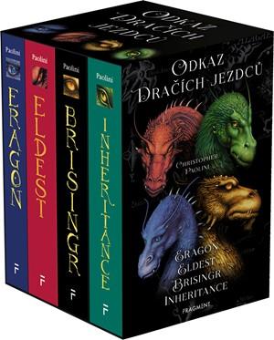 Odkaz Dračích jezdců – Eragon,Eldest,Brisingr,Inherit.(box)